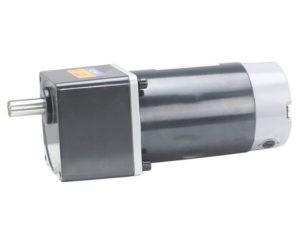 Цилиндрический мотор-редуктор постоянного тока