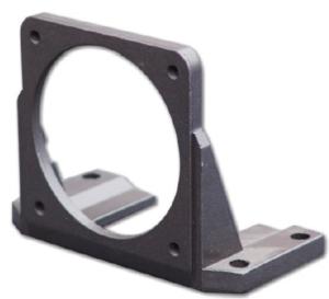 Крепёжный уголок для цилиндрического мотор-редуктора