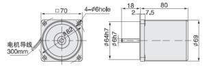 3IK15A Электродвигатель малогабаритный
