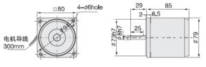 4IK25A Электродвигатель малогабаритный